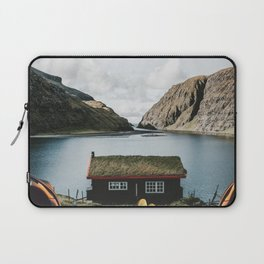 Peace and Quiet at the Faroe Islands Cottage Laptop Sleeve