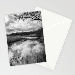Dawlish Nature Reserve Monotone Stationery Cards