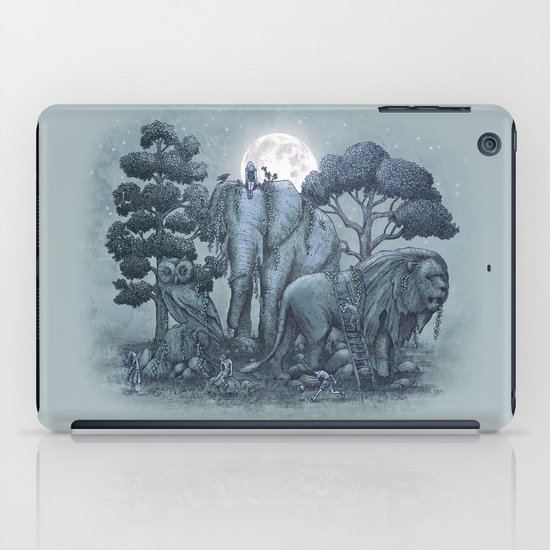 Midnight in the Stone Garden (colour option) iPad Case