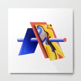 Abstract A Metal Print