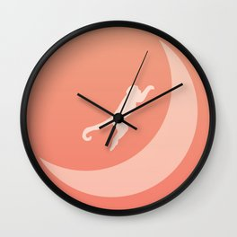 The Monkey Over The Moon Wall Clock
