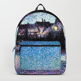 Maximilien Luce - Rue Ravignan, Paris - Digital Remastered Edition Backpack
