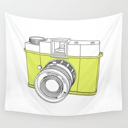 Diana F+ Glow - Plastic Analogue Camera Wall Tapestry