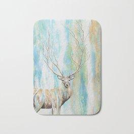Deer Tree Bath Mat