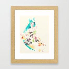 Sheeps Framed Art Print