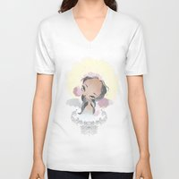 halo V-neck T-shirts featuring Halo by Aillustrations