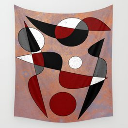 Abstract #154 Lost in the Confusion Wall Tapestry