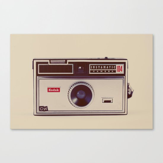 Instamatic Canvas Print