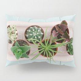 Mini potted succulents Pillow Sham