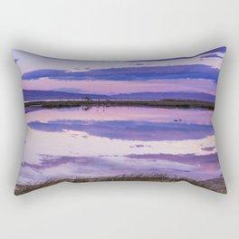 Pink Lake Rectangular Pillow