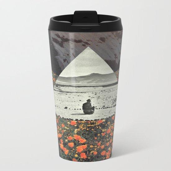 Harmony with flowers Metal Travel Mug
