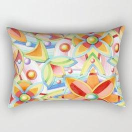 Suzani Auspicious Waves Rectangular Pillow