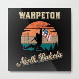 Wahpeton North Dakota Metal Print