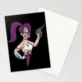 Leela Zombie Stationery Cards