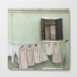 Laundry Day Metal Print
