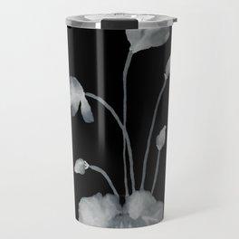 Ink flower inverse Travel Mug
