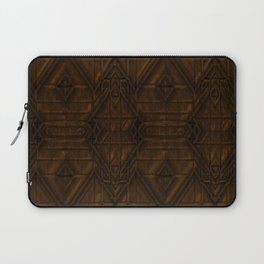 Coppery African Pyramid Laptop Sleeve