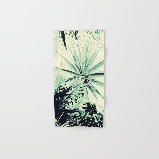Abstract Urban Garden Hand & Bath Towel