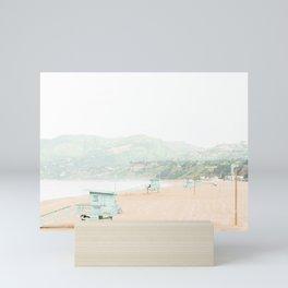 Travel photography Santa Monica II Mini Art Print