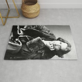 The Picture of Oscar Wilde Rug