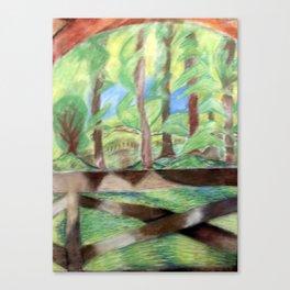 Flash of Scenery Canvas Print