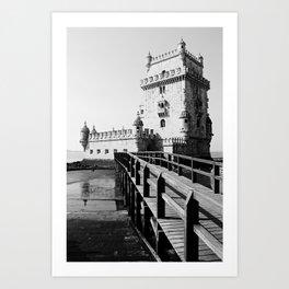 PORTUGAL ... Lisbon - Torre de Belem Art Print