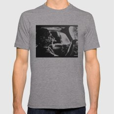 Bukowski's Sunday Drive Mens Fitted Tee Athletic Grey SMALL