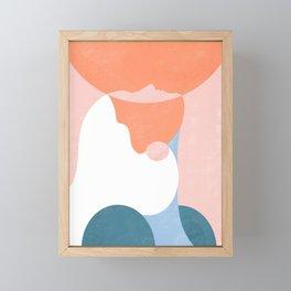 You are enough Framed Mini Art Print