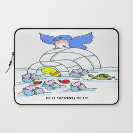 Spring Yet? Laptop Sleeve