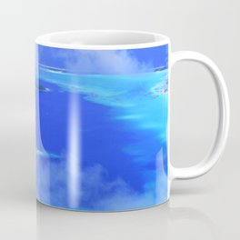 Heavenly Bora Bora Tropical Island Stunning Aerial View Coffee Mug