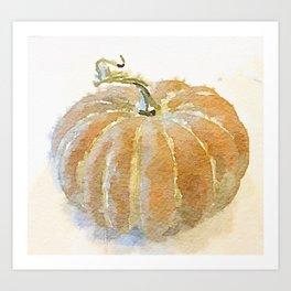 Cinderella Pumpkin Art Print