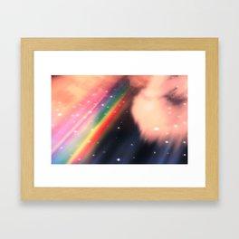 Under The Rainbow Sky 2 Framed Art Print