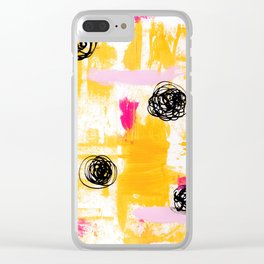 Lemonade Stand Clear iPhone Case
