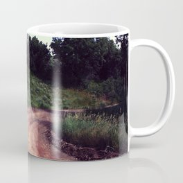 A Curve In The Road Coffee Mug