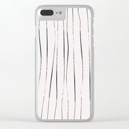 Coit Pattern 8 Clear iPhone Case