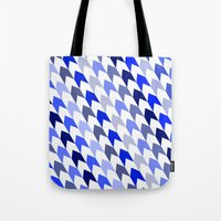 arrows Tote Bags featuring arrows by haroulita