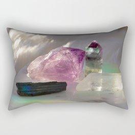 Crystals + Rainbows 1 Rectangular Pillow
