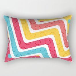 Geometric Figures 4 Rectangular Pillow