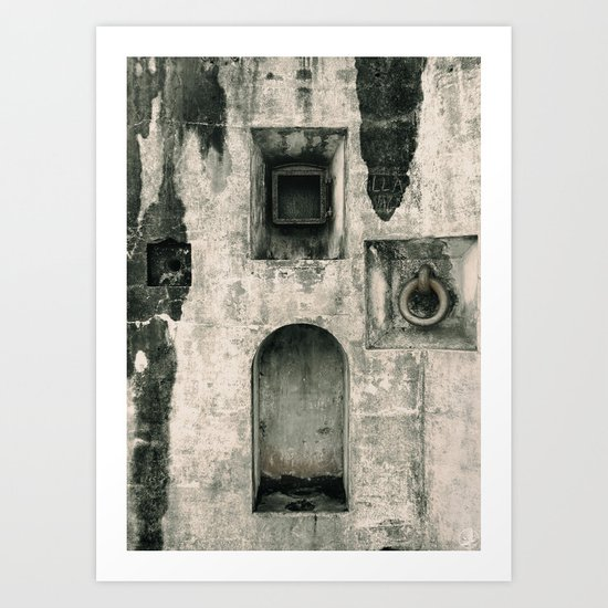 Quattro Niches, military artillery fort Art Print