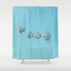 Blue Paradise Shower Curtain
