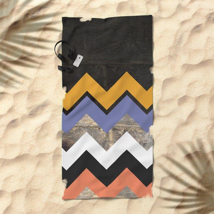 WoodPath Beach Towel