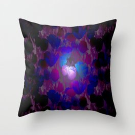 Night vision... Throw Pillow