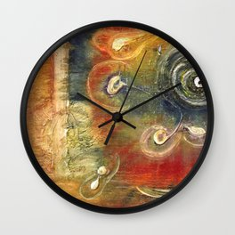 A Dedication To The Boy Who Tried To Make More Of A Woman's Worthless Words Wall Clock