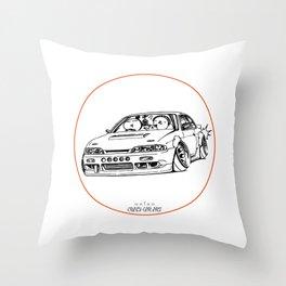 Crazy Car Art 0201 Throw Pillow