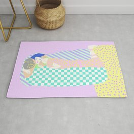 THE KISS REIMAGINED Rug