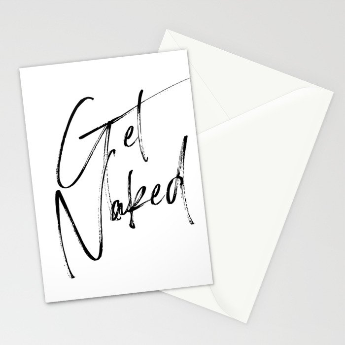 Get Naked, Home Decor, Printable Art, Bathroom Wall Decor, Quote Bathroom, Typography Art Stationery Cards