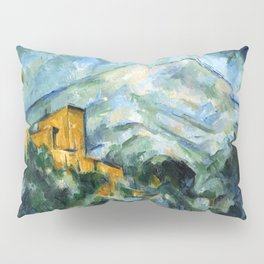 1906 - Paul Cezanne - Mont Sainte-Victoire and Château Noir Pillow Sham