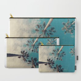Palm tree, Tropical decor Carry-All Pouch