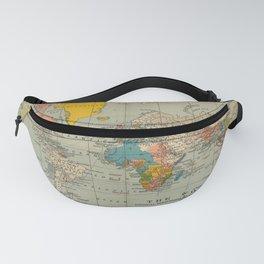 Vintage world map Fanny Pack
