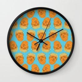 PigFaced Trump Pattern Wall Clock